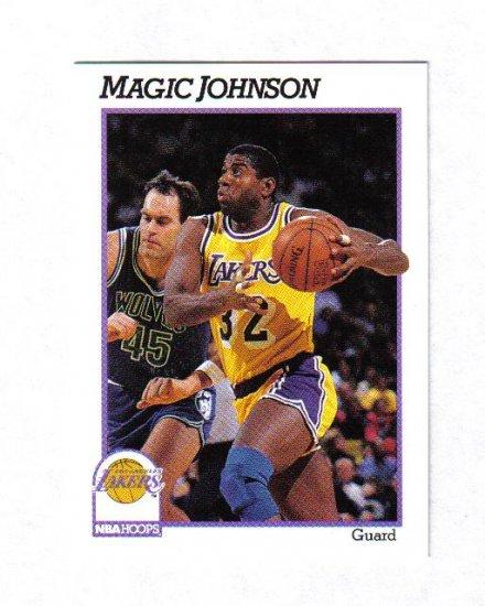 MAGIC JOHNSON 91-92 HOOPS #101