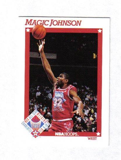 MAGIC JOHNSON 91-92 HOOPS ALL STAR #266