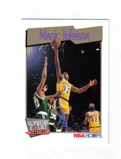 MAGIC JOHNSON 91-92 HOOPS SUPREME COURT #473