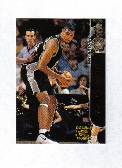 TIM DUNCAN 1998 PRESS PASS DOUBLE THREAT #35