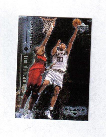 TIM DUNCAN 98-99 BLACK DIAMOND #76