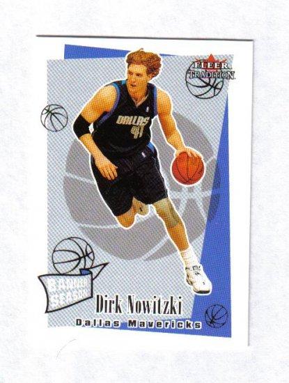DIRK NOWITZKI 03-04 FLEER TRADITION BANNER SEASON #255