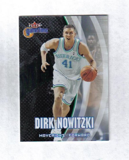 DIRK NOWITZKI 00-01 FLEER GAME TIME #20