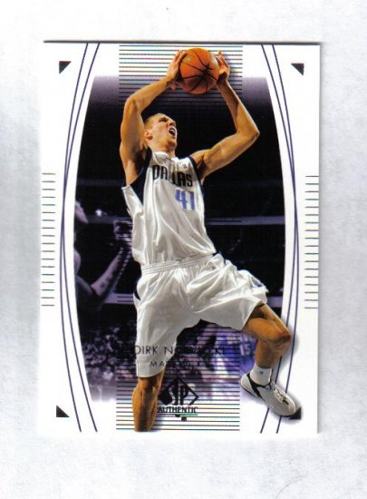 DIRK NOWITZKI 03-04 SP AUTHENTIC #13