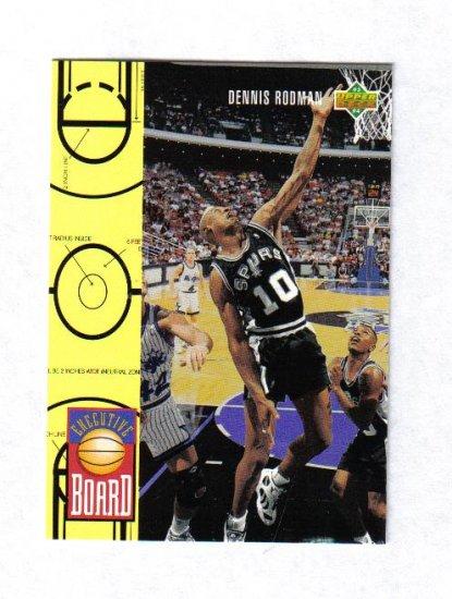 DENNIS RODMAN 93-94 UPPER DECK EXECUTIVE BOARD #421
