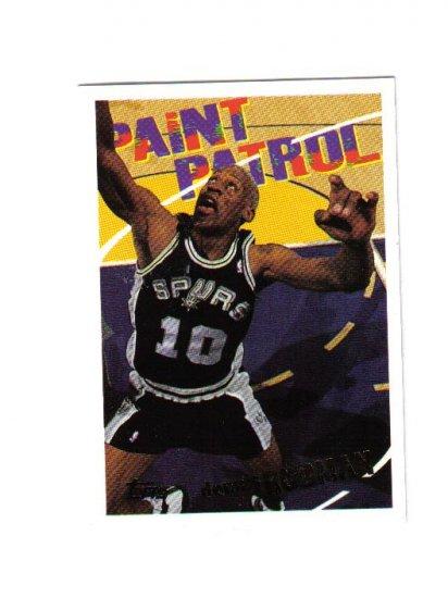 DENNIS RODMAN 94-95 TOPPS PAINT PATROL #107