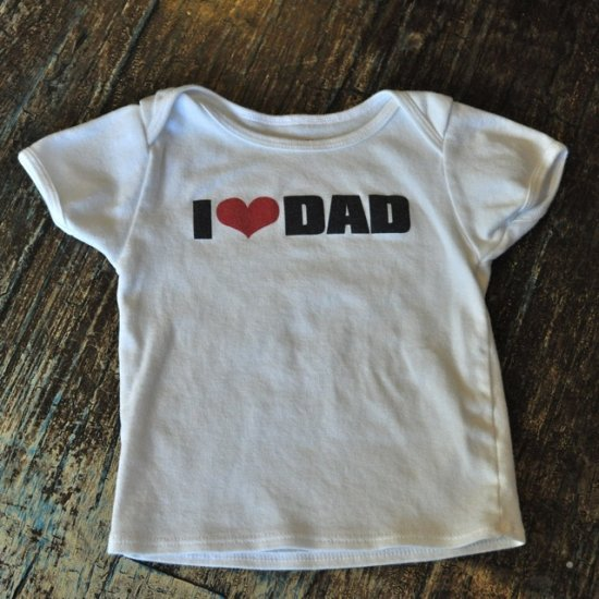 "Lucky Brand ""I Heart Dad"" Tee"