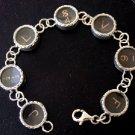 Style BR4 TypeWriter Key Bracelet