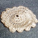 Crocheted Miniature Doily for dollhouse