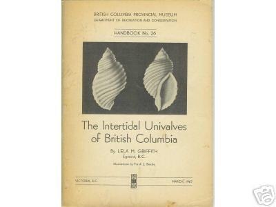 INTERTIDAL UNIVALVES OF BRITISH COLUMBIA 1967
