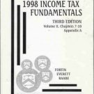 1998 INCOME TAX FUNDAMENTALS third edition volume 11