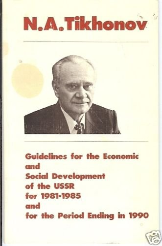 GUIDELINES FOR THE ECONOMIC AND SOCIAL DEVELOPMENT USSR