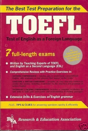 TOEFL BEST TEST PREPARATION ENGLISH AS A FOREIGN LANGUA