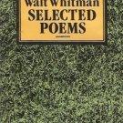 SELECTED POEMS WALT WHITMAN
