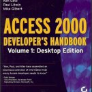 ACCESS 2000 DEVELOPER'S HANDBOOK VOL 1 DESKTOP EDITION