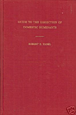 GUIDE TO THE DISSECTION OF DOMESTIC RUMINANTS By Habel