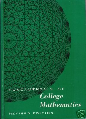 COLLEGE MATHEMATICS By J. Brixey and R. V. Andree