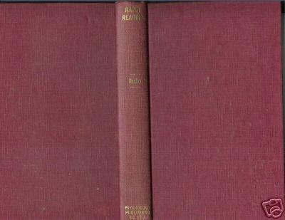 RAPID READING 1967 GEOFFREY A. DUDLEY PSYCHOLOGY SELF