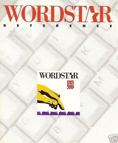 WORDSTAR REFERENCE 5.5