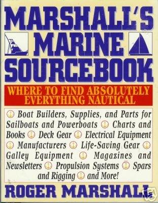 MARSHALL'S MARINE SOURCEBOOK By Roger Marshall