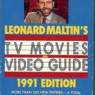 TV MOVIES VIDEO GUIDE 1991 EDITION