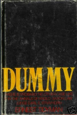 DUMMY By Ernest Tidyman