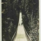 SUSPENSION BRIDGE CAPILANO CANYON N. VANCOUVER BC RPPC