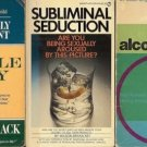 ALCOHOLISM CHEMICALLY DEPENDENT LOT OF BOOK 3