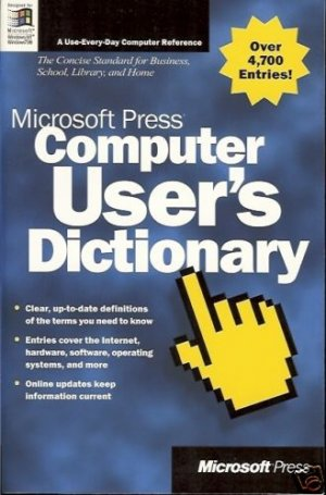 COMPUTER USER'S DICTIONARY MICROSOFT PRESS