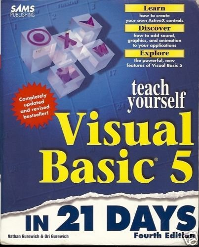 TEACH YOURSELF VISUAL BASIC 5 IN 21 DAYS