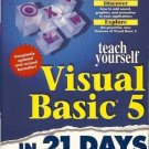 TEACH YOURSELF VISUAL BASIC 5 IN 21 DAYS