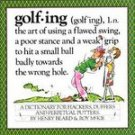 Golfing Dictionary Humor Henry Beard Roy McKie