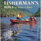 BASS FISHERMAN'S BIBLE RWIN A. BAUER 1961