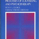 PROCESSES OF COUNSELING AND PSYCHOTHERAPY