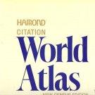 HAMOND CITATION WORLD ATLAS NEW CENSUS EDITION