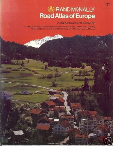ROAD ATLAS OF EUROPE By Rand McNally
