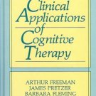 CLINICAL APPLICATIONS OF COGNITIVE THERAPY 1990