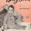 A DOREEN BABY BOOK By Nell Armstrong 1947