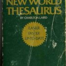 WEBSTER'S NEW WORLD THESAURUS By Charlton Laird