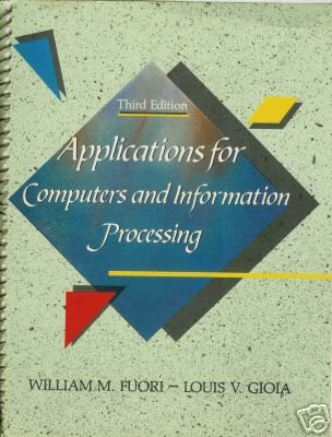 APPLICATIONS FOR COMPUTERS AND INFORMATION PROCESSING