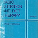 BASIC NUTRITION & DIET THERAPY C.H. Robinson