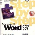 MICROSOFT WORD 97 STEP BY STEP self-study kit