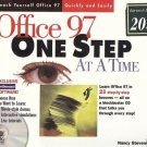 OFFICE 97 ONE STEP AT A TIME learn office 97 NO CD