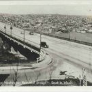 GEORGE WASHINGTON MEMORIAL BRIDGE SEATTLE WASH RPPC