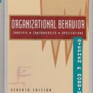 ORGANIZATIONAL BEHAVIOR CONCEPTS CONTROVERSIES APPLICAT