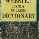 WEBSTER HANDY COLLEGE DICTIONARY 1972