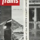 TRAINS THE MAGAZINE OF RAILROADING August 1963