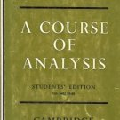 A COURSE OF ANALYSIS students' edition Mathematics