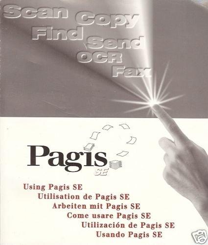 PAGIS SE SCAN COPY FIND SEND OCR FAX