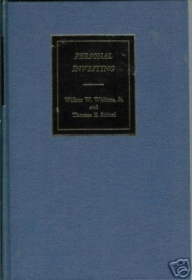 PERSONAL INVESTING By  W. W. Widicus and T. E. Stitzel